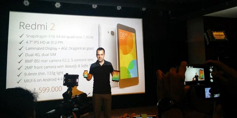 Harga Resmi Xiaomi Redmi 2 Terbaru di Indonesia