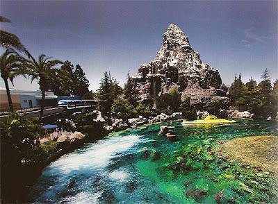 Tomorrowland Disneyland Mandy Monorail Matterhorn passholder book