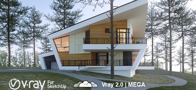Vray 2.0 + CRACK | para Sketchup 2014 | MEGA - MEDIAFIRE | 1 Link