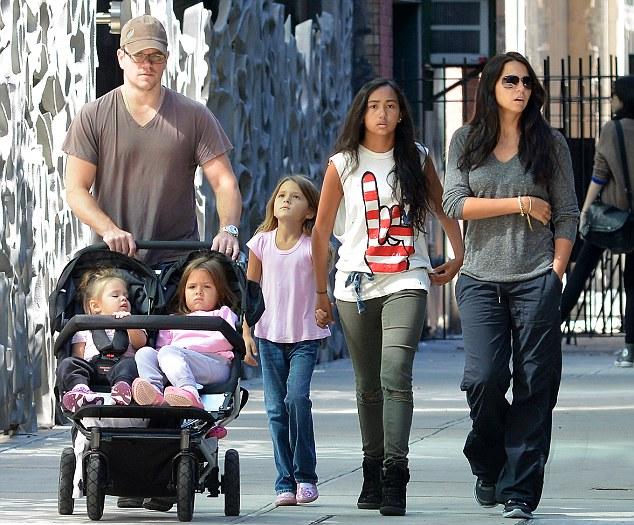 Matt Damon Wife Luciana