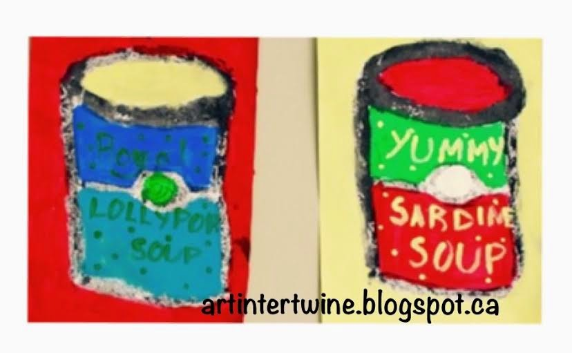 Art Intertwine - Andy Warhol Soup Cans