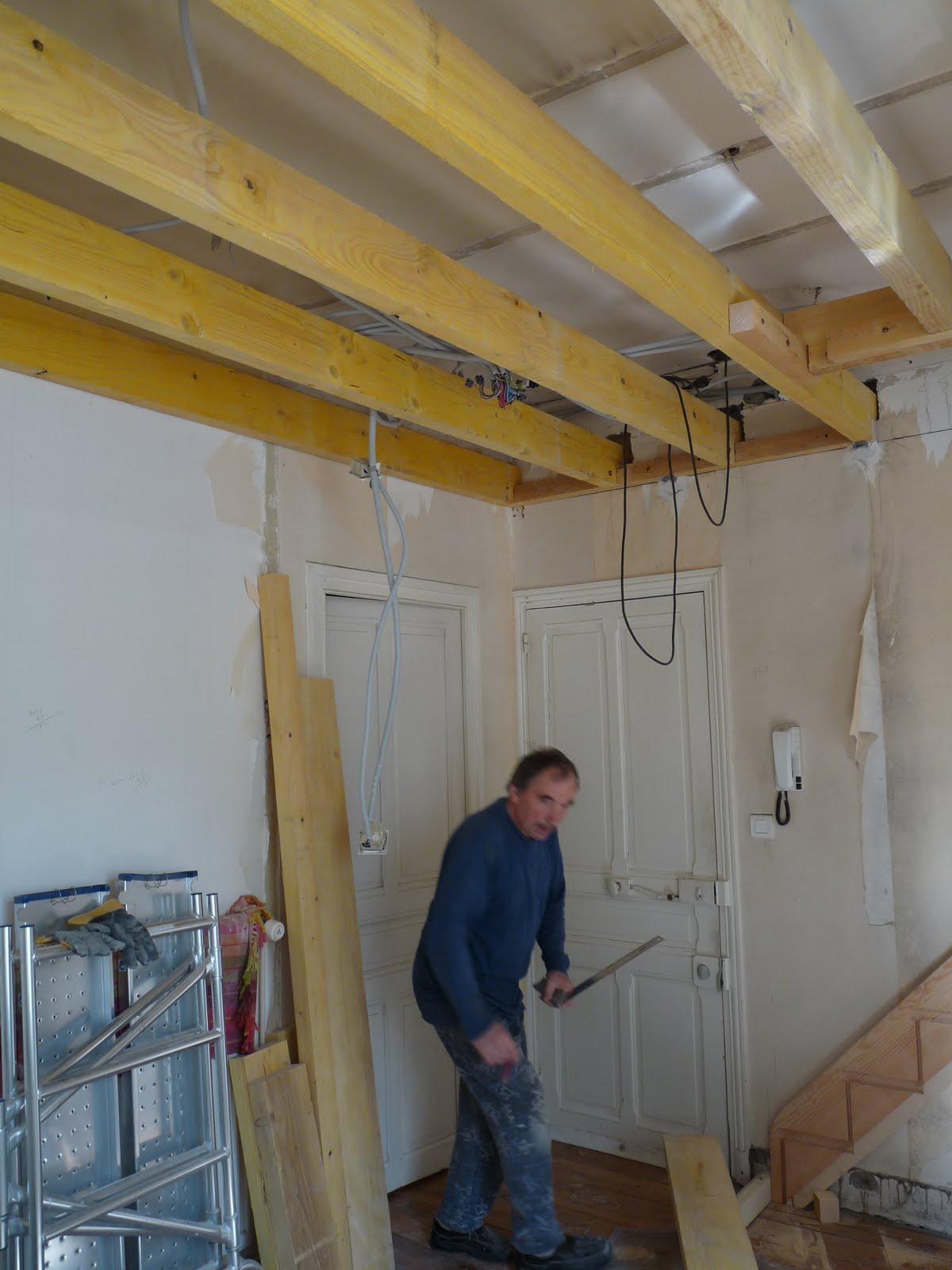 Travaux appartement for Faire un sous plafond