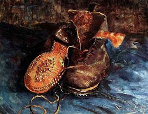 """""""Un par de botas"""" (1887)"""