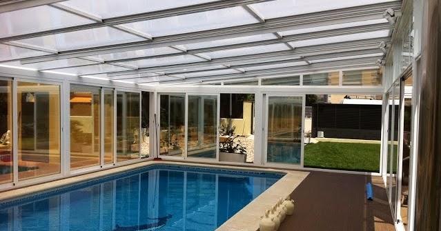 Cerramientos de piscinas con techos moviles en madrid cerramientos y cubiertas para piscinas - Cerramientos para piscinas ...
