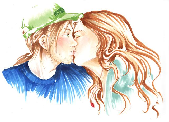 Premier baiser - calendrier de tendresses