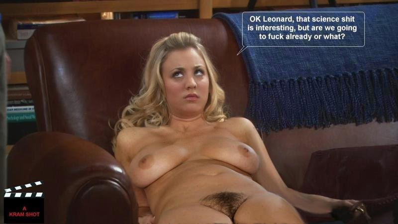 Kaley Cuoco Getting Fucked In The Big Bang Theory