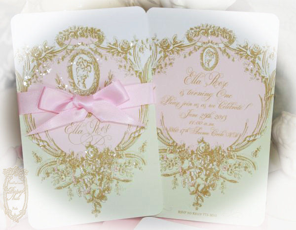 La pink paperie the blog for paper nosh marie antoinette laduree marie antoinette laduree inspired mint macaron invitations with mint macaron pink bow boxes for weddings engagement save the dates birthdays and tea stopboris Image collections