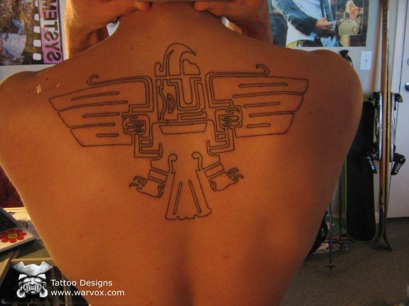my tattoo designs aztec eagle tattoos. Black Bedroom Furniture Sets. Home Design Ideas
