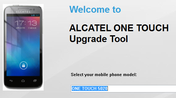 Actualizar alcatel one touch 5020