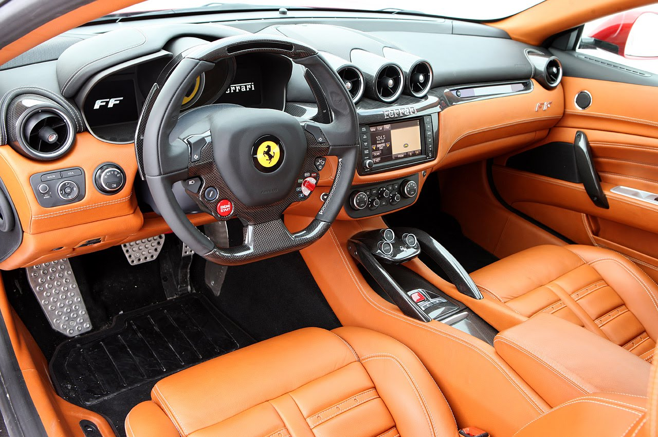 2013 FERRARI FF INTERIOR DESIGN