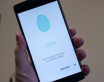 lg v10 fingerPrint Scanner