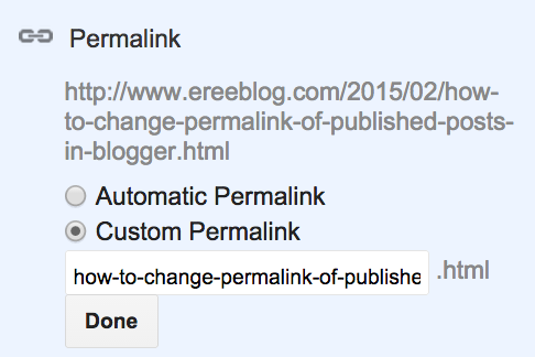 how-to-change-permalink-of-published-posts-in-blogger-EreeBlog