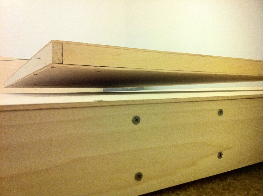 Great pictures homemade magnetic levitating bed for Levitating bed