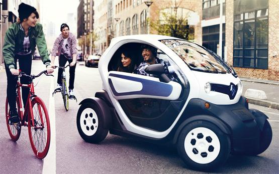vehículo eléctrico Renault Twizy