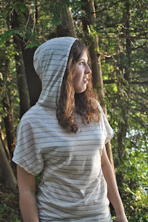 Hooded Dolman Top