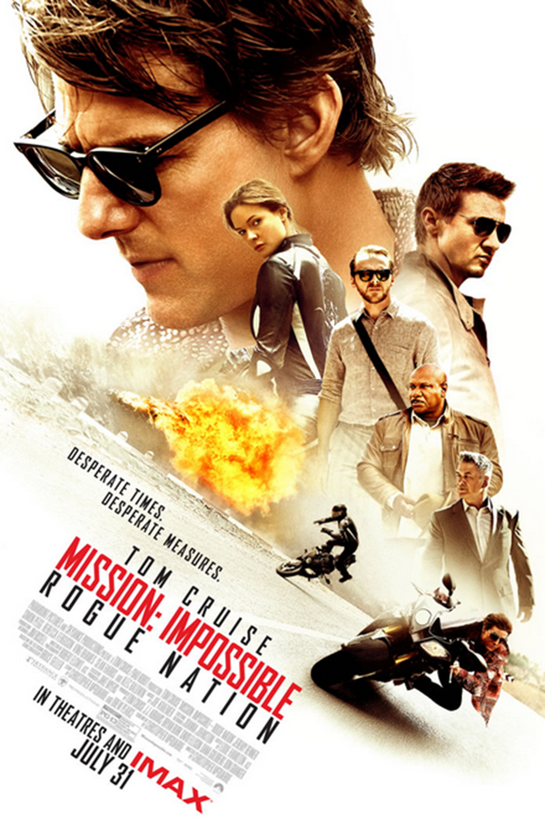 What I'm Watching - Mission Impossible Rouge Nation - littleladylittlecity.com