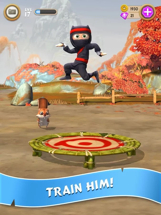 Clumsy Ninja v1.9.0 Mod [Unlimited Coins/Gems]