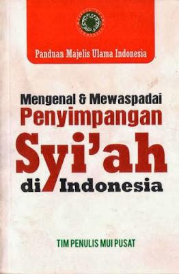 MUI Pusat terbitkan buku kesesatan Syiah