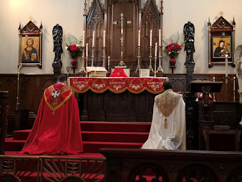 Traditional Catholic Altar
