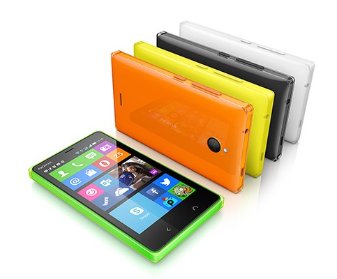 Smartphone dual sim Nokia X2 disponibile in tanti colori