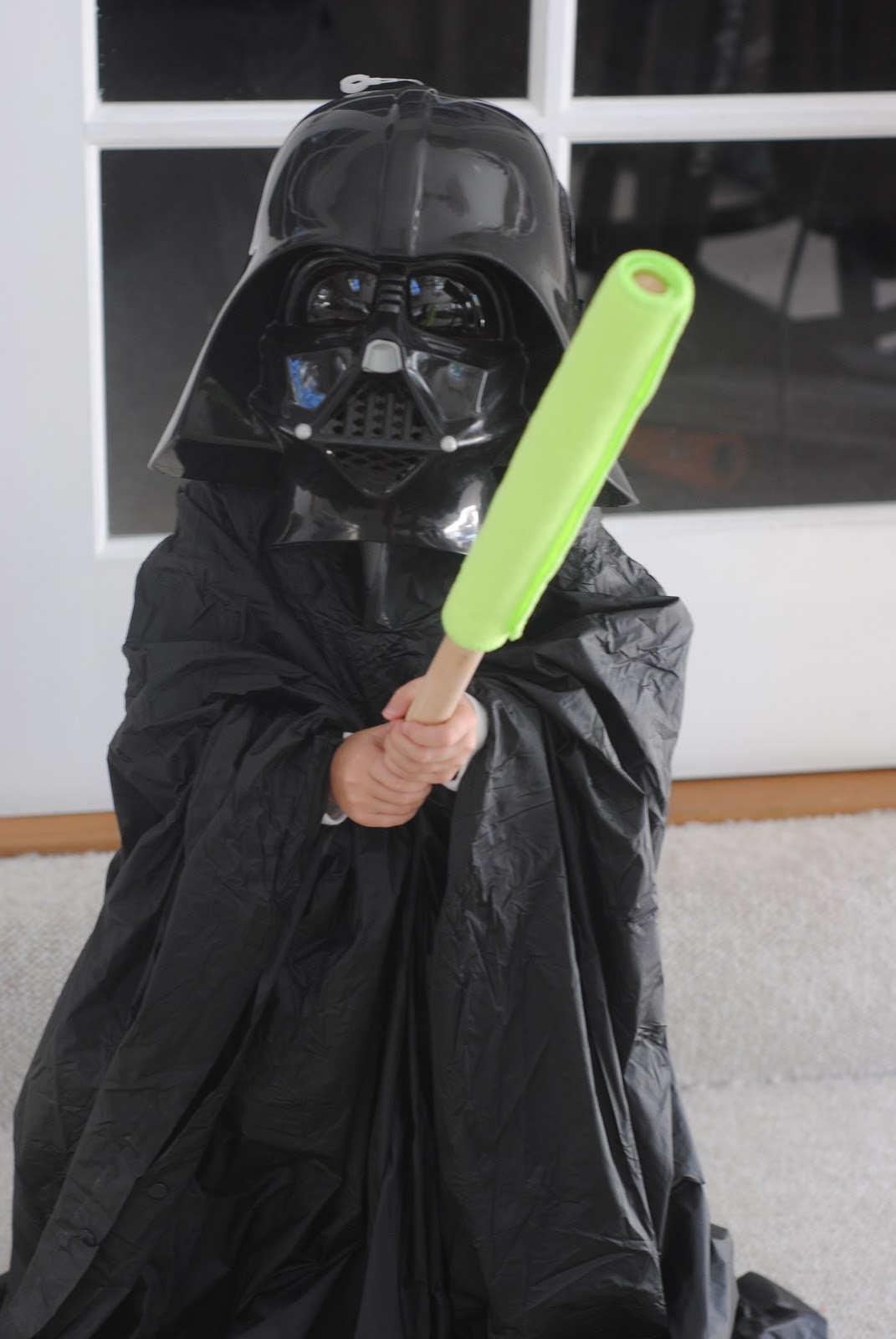homemade diy star wars darth vader costume halloween - Halloween Darth Vader