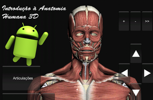 Introdução à Anatomia Humana 3D para Android