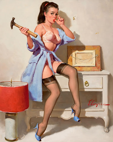 Gil Elvgren classic pin up
