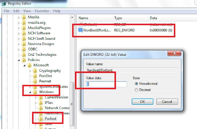Cara Mempercepat Management Konektivitas Internet di Windows 7