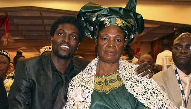 Adebayor gets apologies from his mum and brother, Rotimi