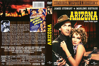 Carátula dvd: Arizona (1939) (Destry Rides Again)