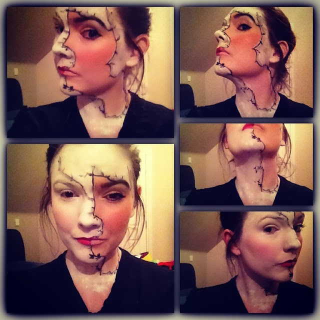 Broken Doll Make up image