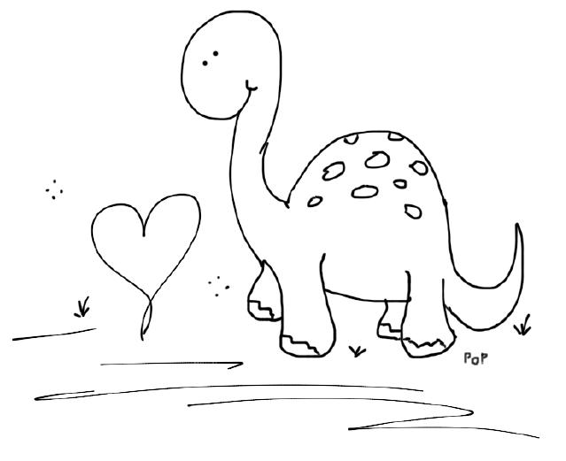 Image Result For Dinosuar Color Page