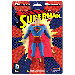 NJ Croche DC Comic Bendy Superman Figure