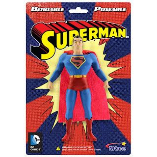 NJ Croche DC Comic Bendy Superman Figure