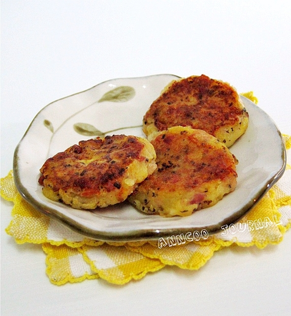 Bacon Potato Cake with Cheese | Anncoo Journal - Come for Quick and ...