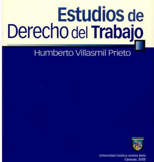 ESTUDIOS DE DERECHO DEL TRABAJO