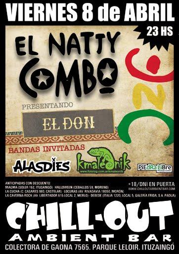 EL NATTY COMBO - 8 de Abril