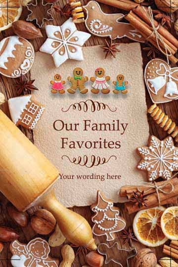 Family Cookbook Cover Template : Family cookbook project introduces three new