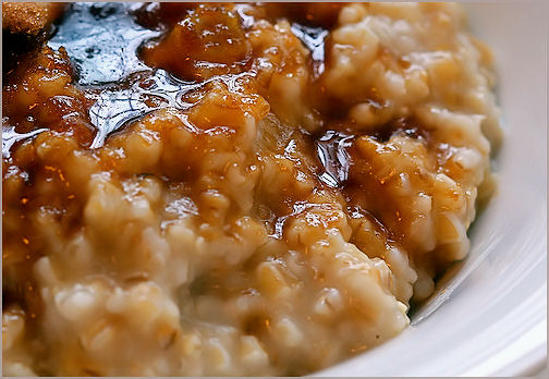 Crock-Pot Cinn-Apple Oatmeal | Becky Cooks Lightly
