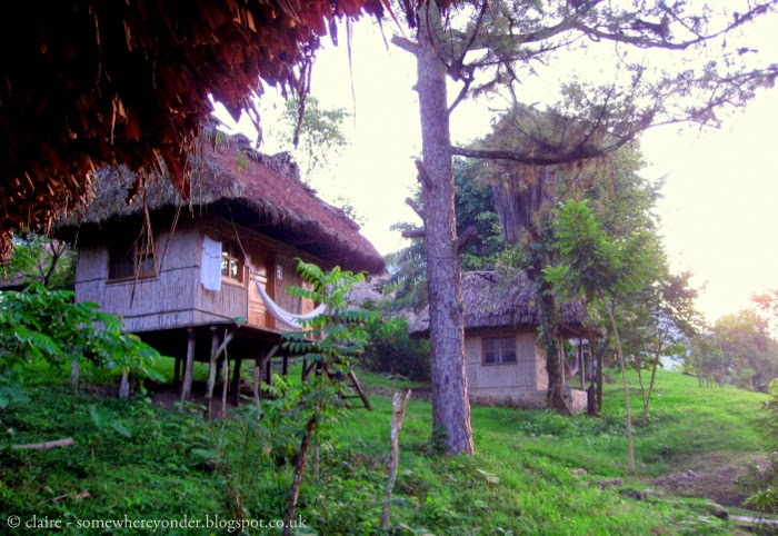 our bungalow in Semuc Champey, Guatemala