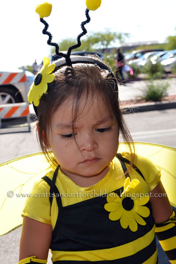 Cute Bumblebee Costume for Halloween