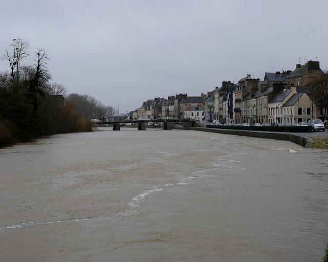 Quand la Vilaine déborde à Redon
