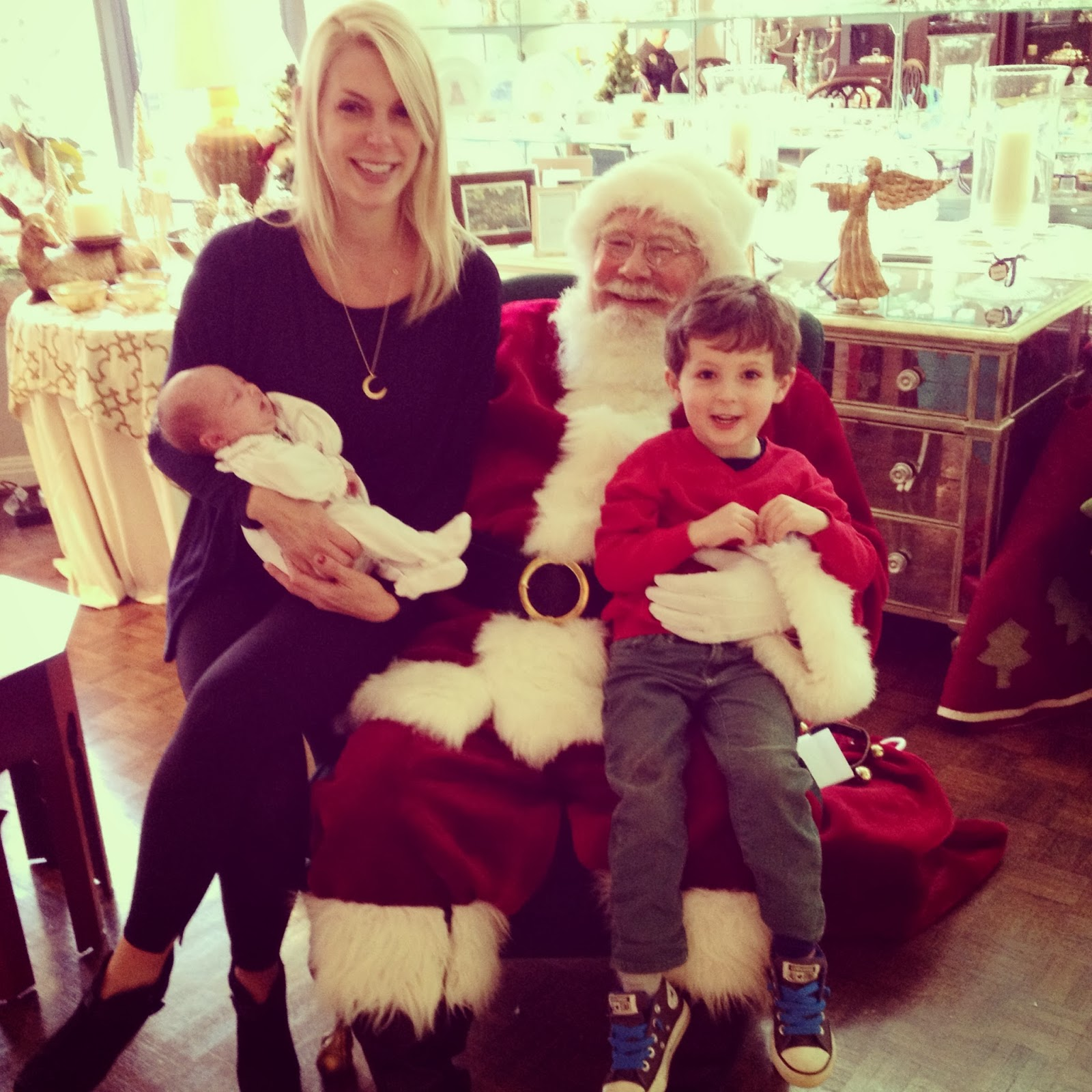 to do christmas activities we finally had a successful picture with santa this year no tears the only way i could get sterling on his lap was if i - Dirty Merry Christmas Pictures