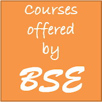Courses offered by Bombay Stock Exchange (BSE)