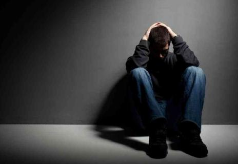 30 Ways to Deal with Depression  - depressed man