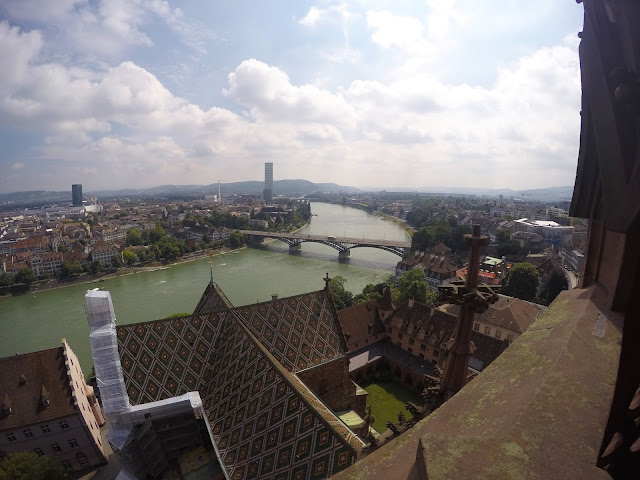 view, basel, Switzerland, travel, travelling, traveling, Europe, long weekend, weekend break, city break, euro trip, rathaus, red rathaus, black forest, Rhine, munsterplatz, munster cathedral, guide to basel, what to do in basel,