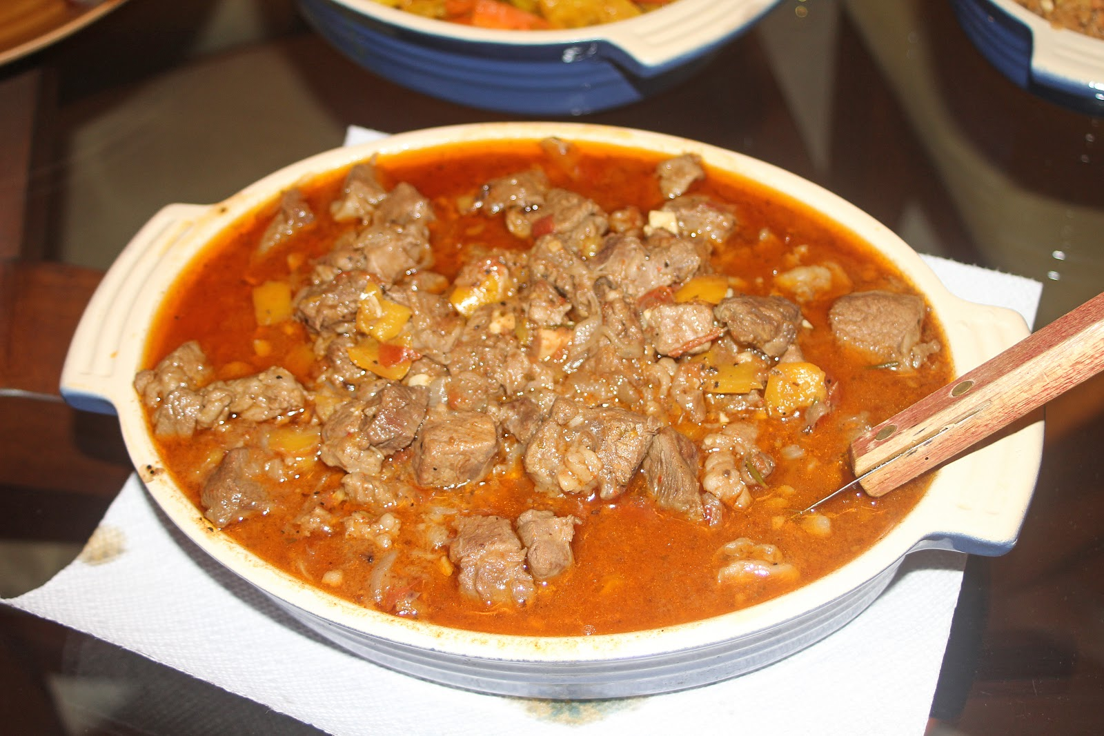 The Grub Files: Cooking with Camissonia: Yebeg Wat (Spiced Lamb Stew)