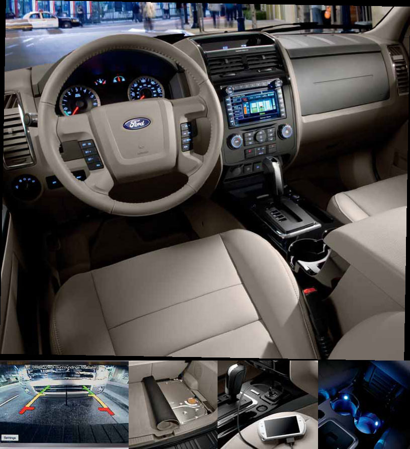 2012 ford escape interior photos. Black Bedroom Furniture Sets. Home Design Ideas