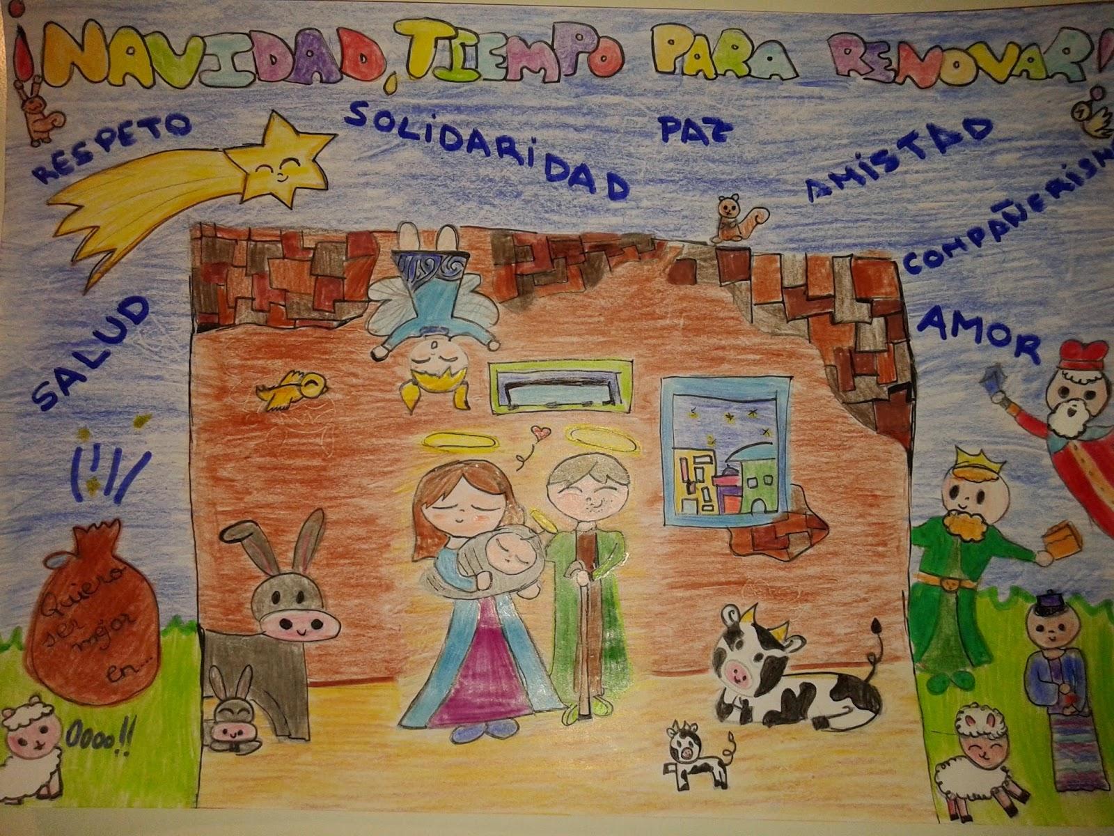 Anachicuca s bados chicucos diciembre - Postales de navidad hechas por ninos ...