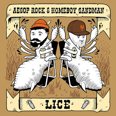 "AESOP ROCK & HOMEBOY SANDMAN ""Lice"""